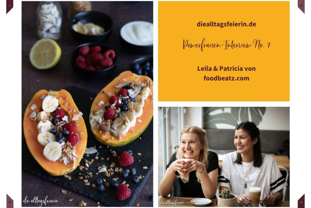 Papaya-Boote mit Joghurt, Granola und Früchten, Rezept von foodbeatz.com