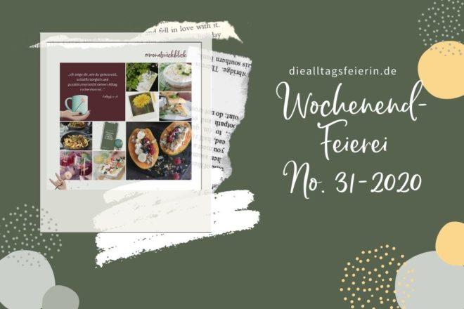 Wochenrückblick No 31-2020, Pasta, Wein, Würzburg, BookBeat Code