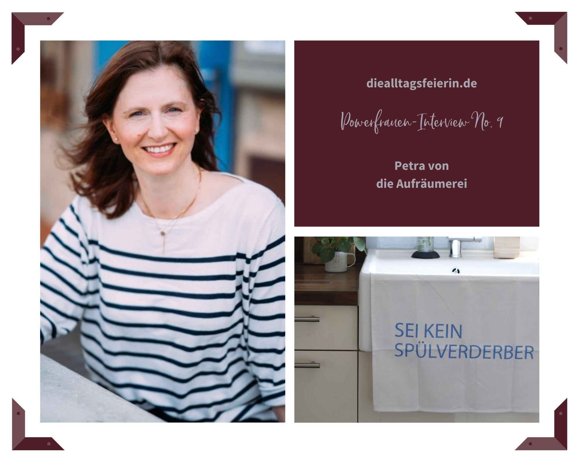 Petra Bäumler, die aufräumerei Powerfrauen-Interview auf diealltagsfeierin.de