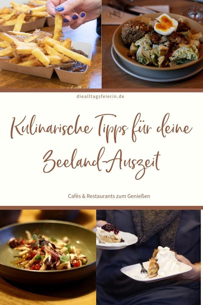 Zeeland, Hooked Pommes speciaal, Cesar Salad Strandclub Zee, Bru 17 Tintenfisch, Kuchen Herkingen