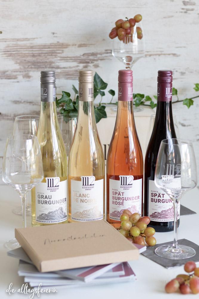 elfhundertzwölf, Weinprobe für Zuhause, das Do-It-Yourself-Set für einen gemütlichen Badischen Weinabend,Wochenrückblick No 39-2020