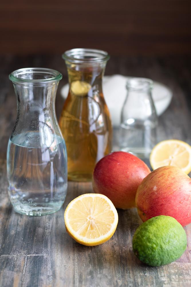 Gin-Tonic-Gelee mit Apfel, Cocktailglück am Frühstückstisch, diealltagsfeierin.de