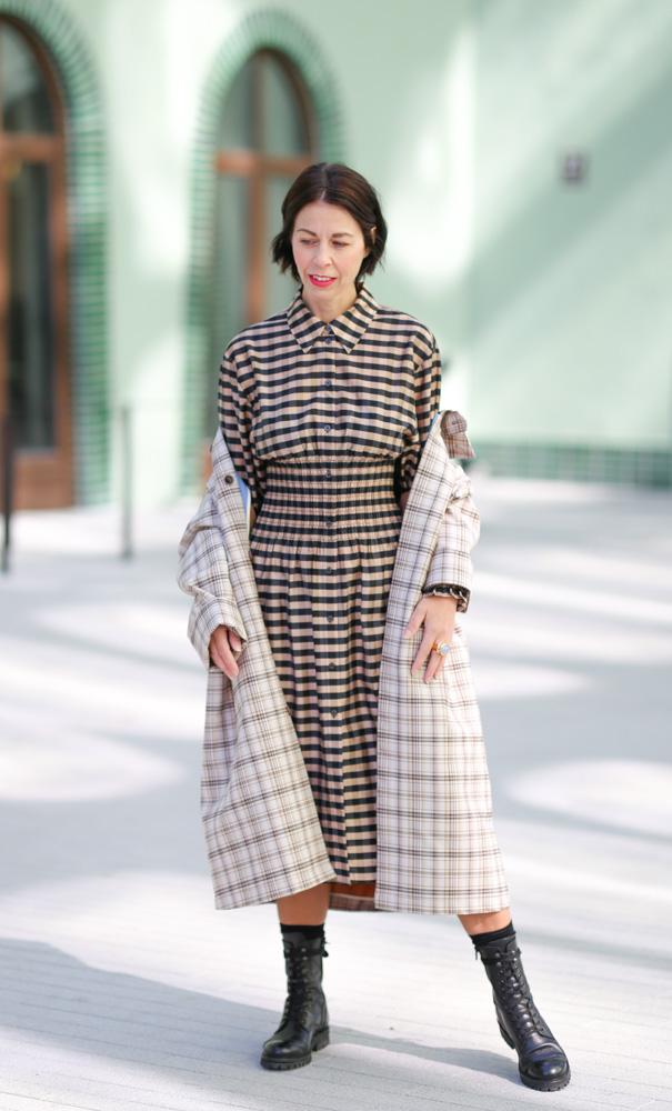 Herbst-Trends 2020, Karo trifft Kleide, by stilfrage Bianca Stäglich