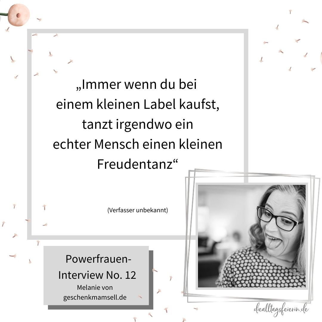 Melanie von geschenkmamsell.de,Wochenrückblick No 42-2020