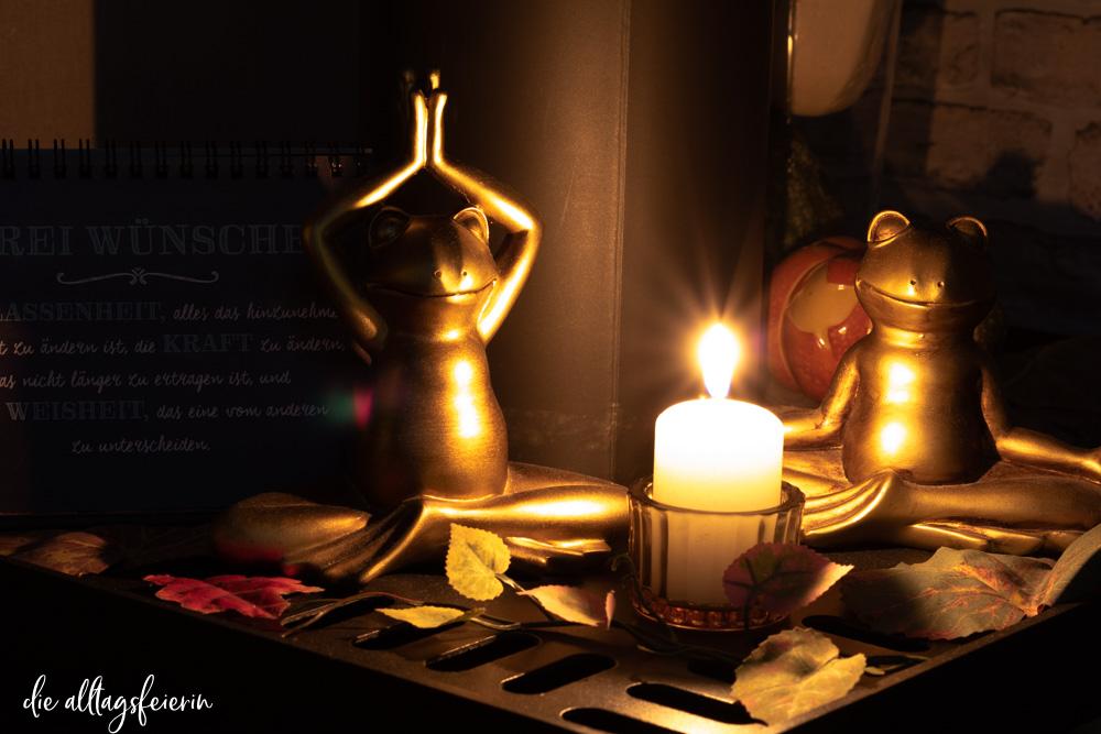 Yogafrösche, Licht und Schatten, Wochenrückblick No 42-2020