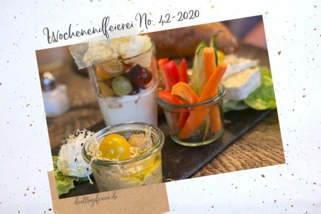Wochenrückblick No 42-2020, Frühstück im Café Neubau in Würzburg
