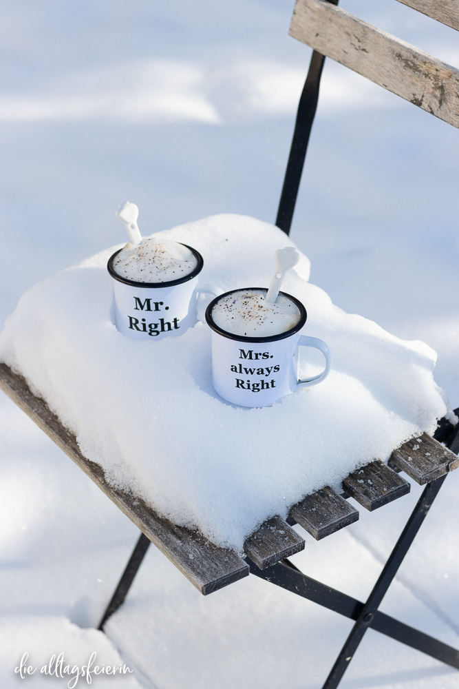 "crinandjean, Becher-Set ""Mr. Right"" Mrs. Always Right"" Valentinstag - Gewinnspiel"