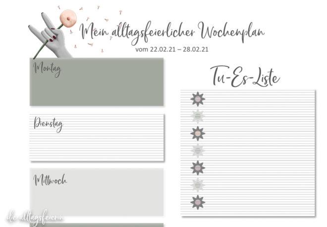 Essensplan No 08-2021, Freebie auf diealltagsfeierin.de