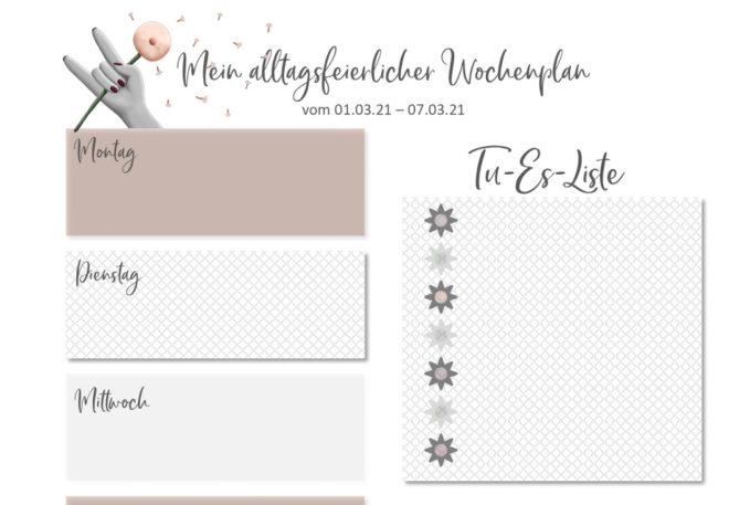Essensplan No 09-2021, Freebie auf diealltagsfeierin.de