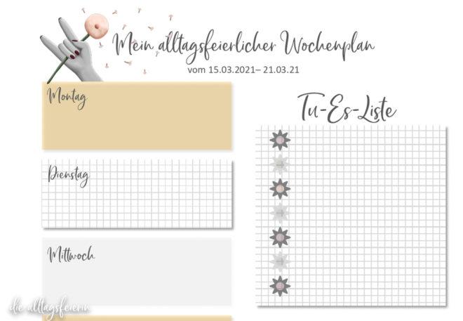 Essensplan No 11-2021, Freebie auf diealltagsfeierin.de