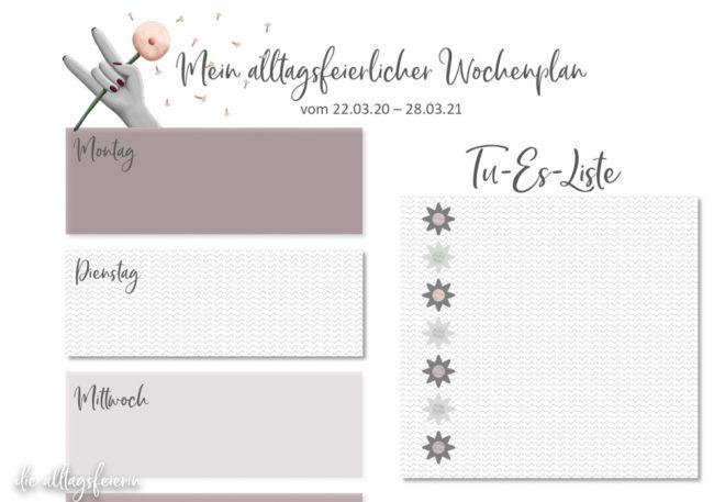 Essensplan No 12-2021, Freebie auf diealltagsfeierin.de