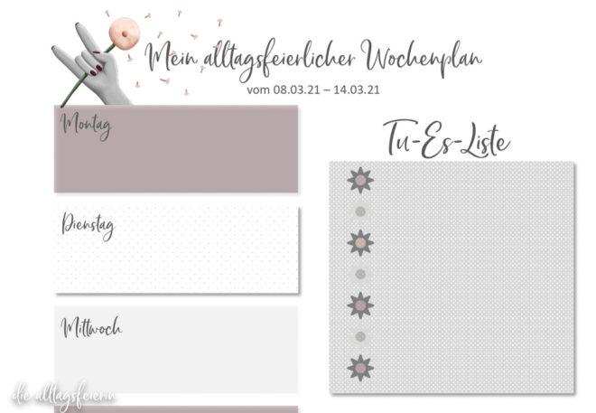 Essensplan No 10-2021, Freebie auf diealltagsfeierin.de