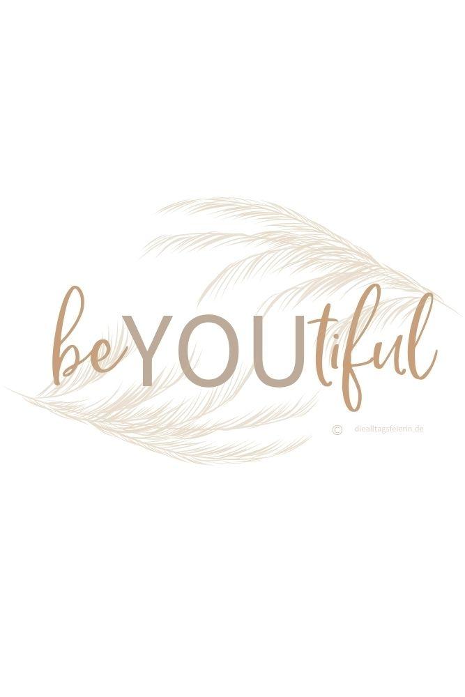 beYOUtiful, Freebie-Newletter April 2021