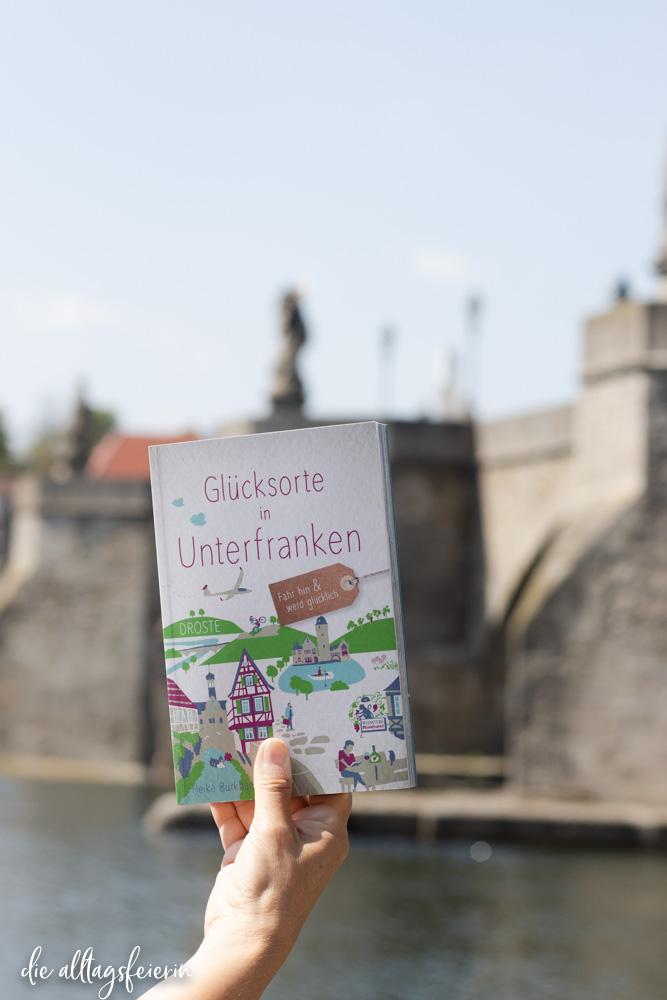 Glücksorte in Unterfranken, der ganz besondere Reiseführer aus dem Droste-Verlag