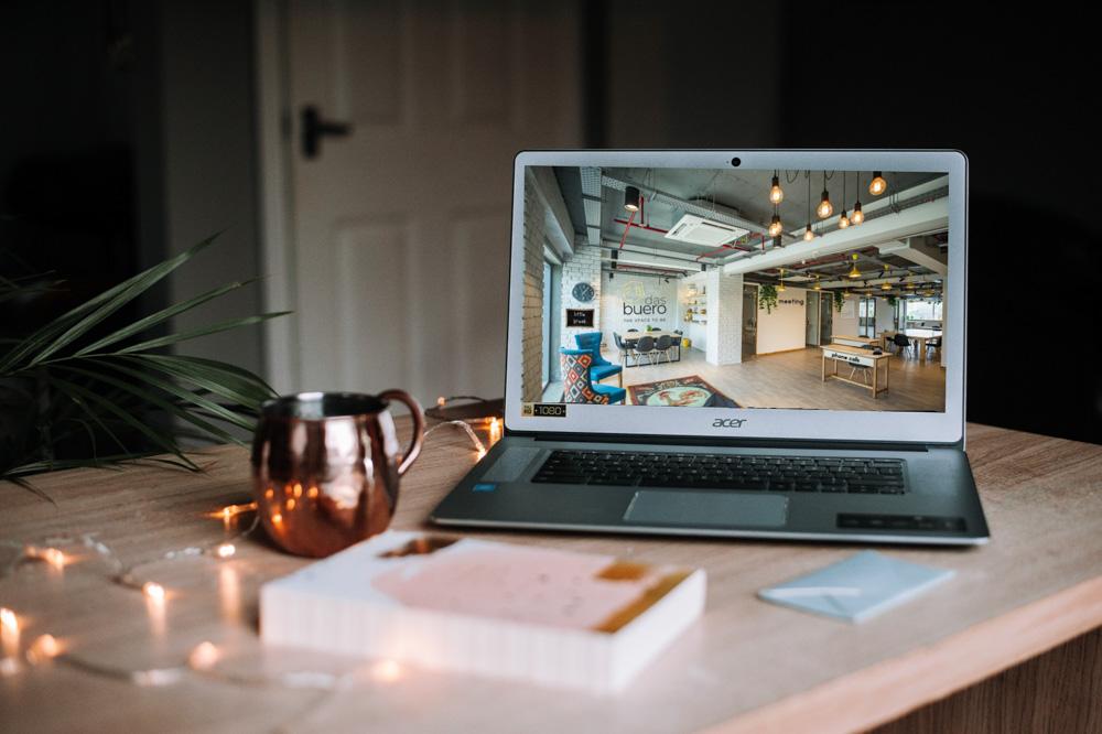 das buero - virtueller Coworking-Space. Josy, die Gründerin im Vorgestellt-Interview