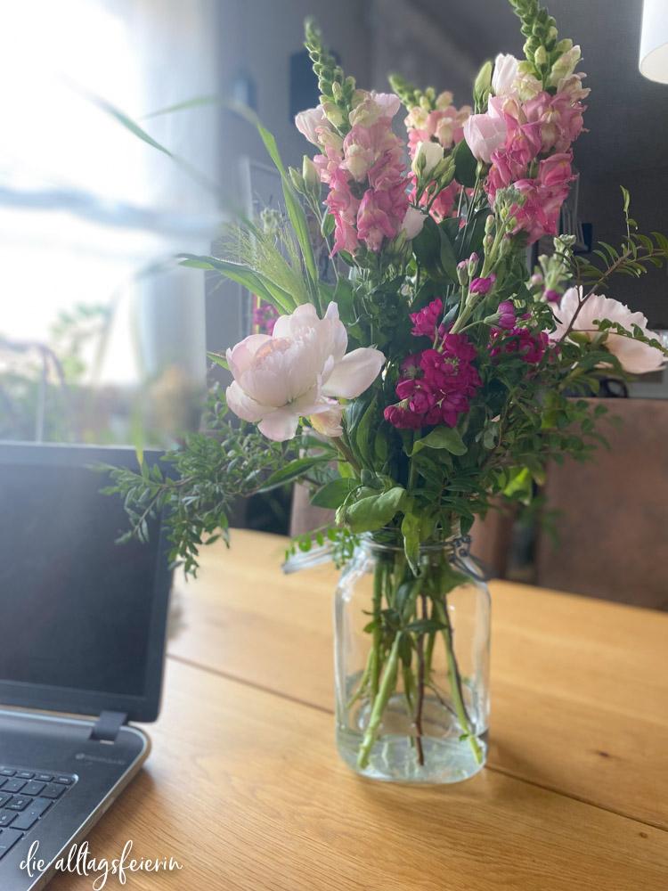 Wochenrückblick No 23-2021, Rabattcode Freddies Flowers, Pfingstrosen