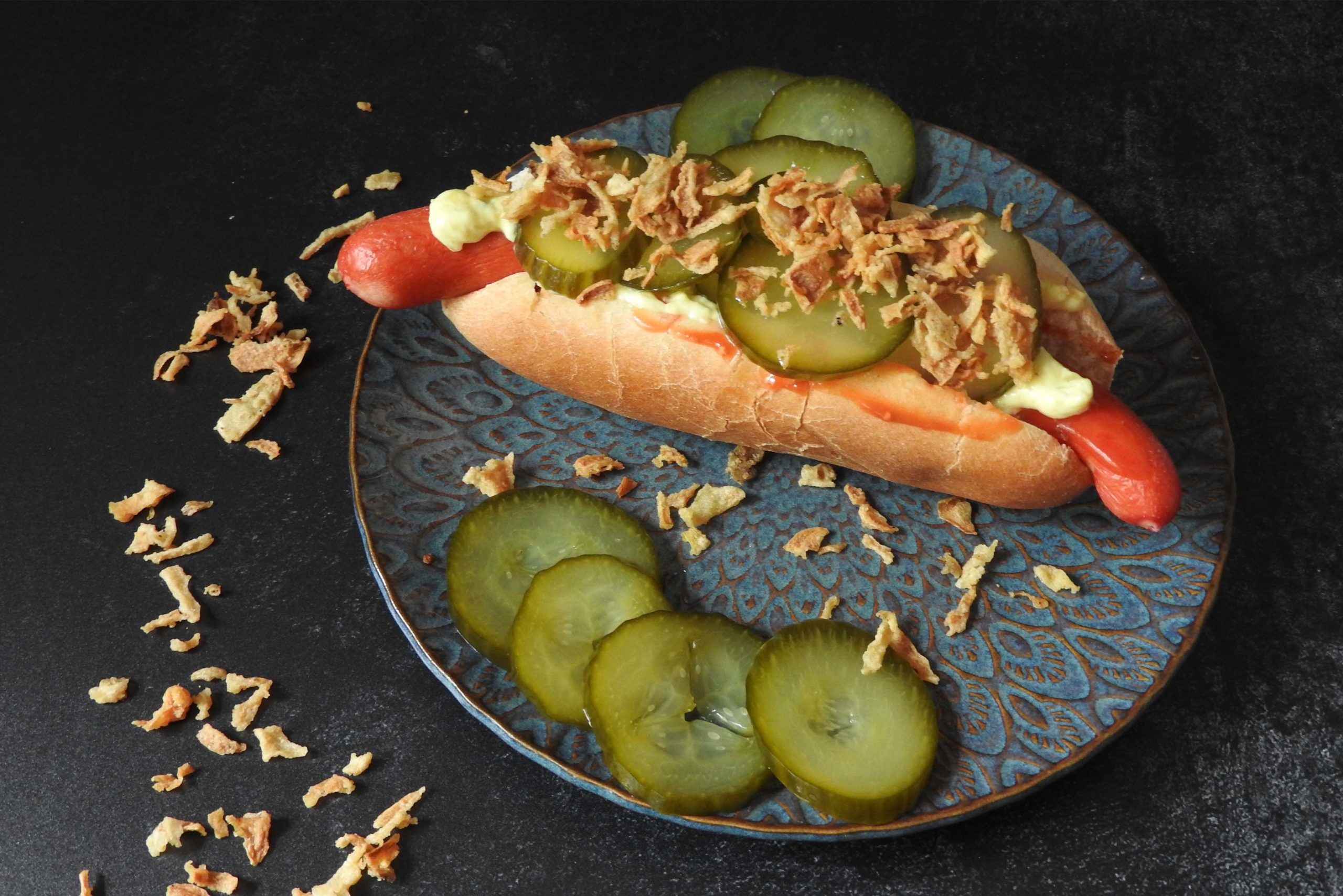 Rezept Dänischer Hot Dog, #reisenzuhause Dänemark