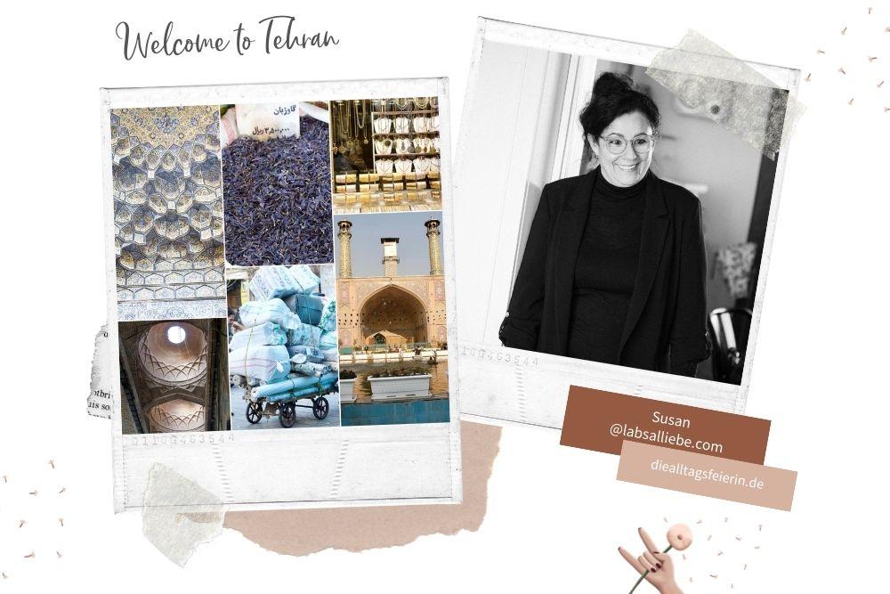 Tehran, Reisebericht, Collage Tehran, Teheran