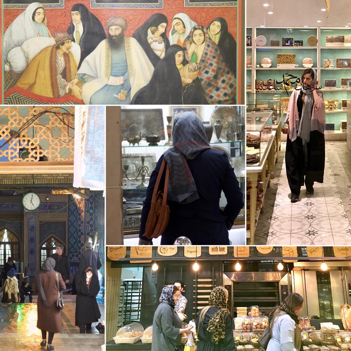 Reisebericht Tehran, Kleiderordnung auch für Urlauber, Bild 2