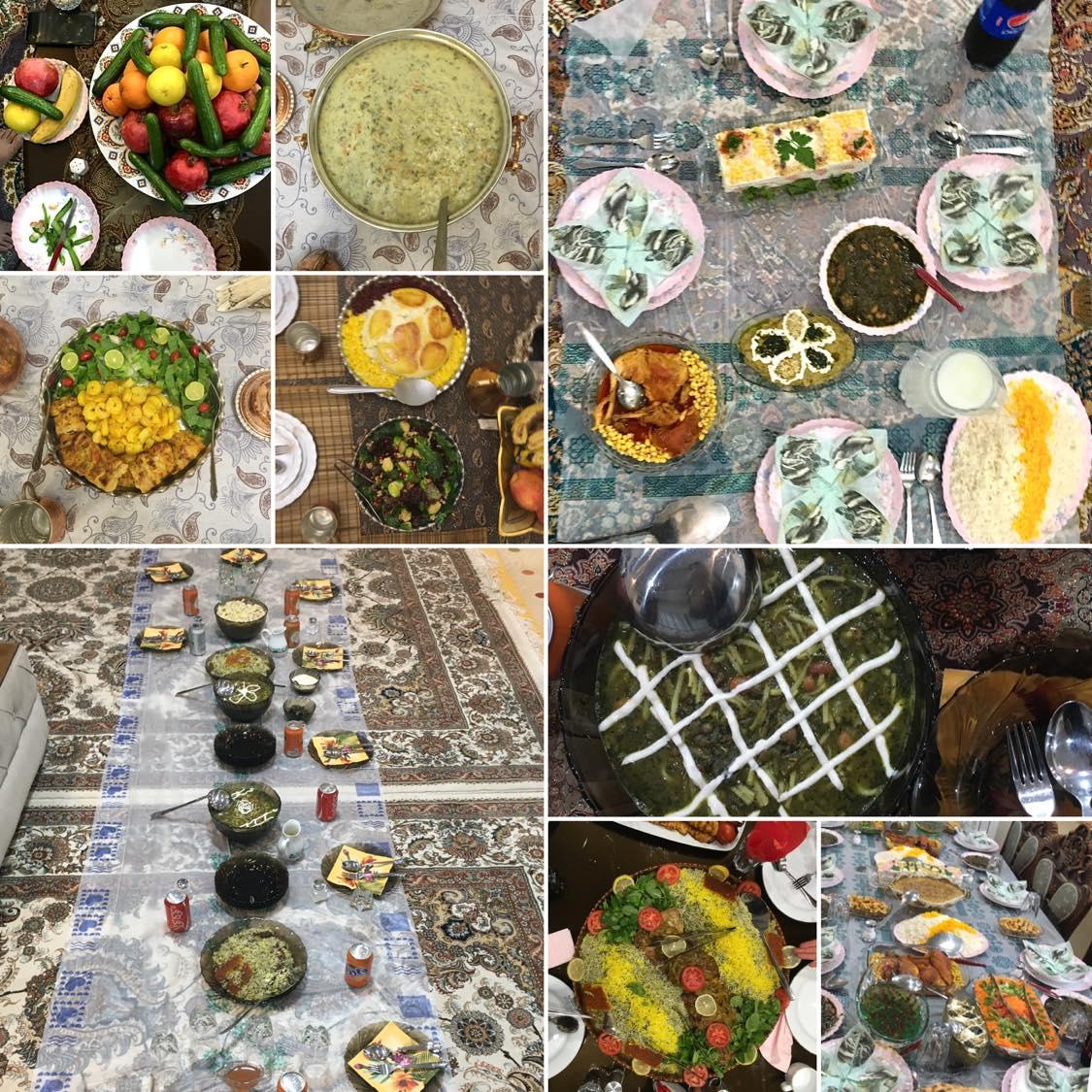 Kulinarischer Tehran, Essen in Tehran, Persische Gastfreundschaft