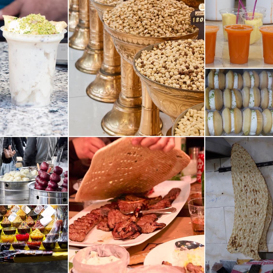 Kulinarischer Tehran, Essen in Tehran, Street-Food-Markt Tehran