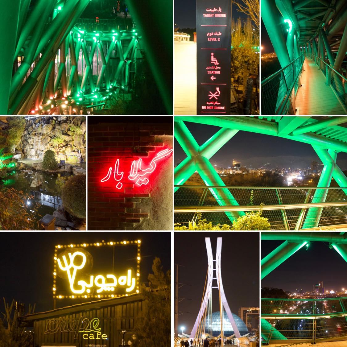 Lichterspiel Tehran, Welcome to Tehran