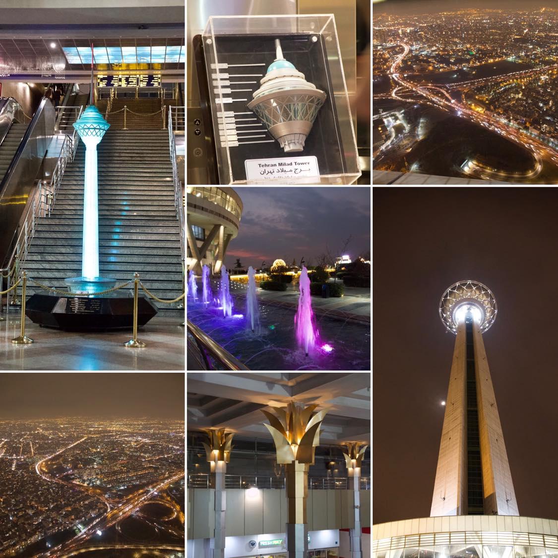 Borj-e mild - Milad Turm Tehran
