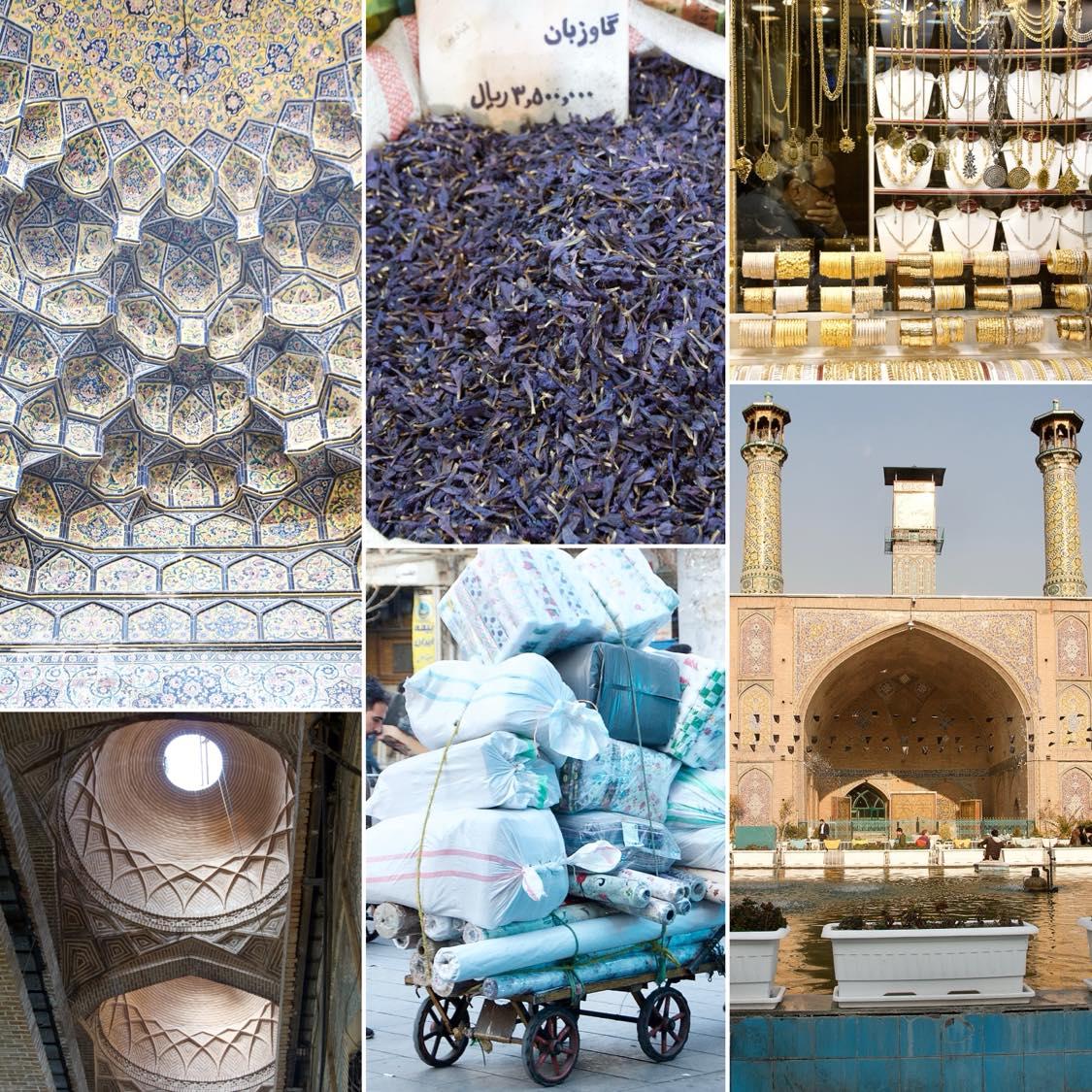 GRAND BAZAR TEHRAN – BAZAR-E BOZORG-E TEHRAN, Tehran, Reisebericht, Collage Tehran, Teheran