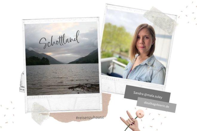 Schottland-Rundreise, Sandra von mal.suley auf diealltagsfeierin.de