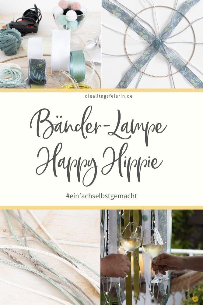 DIY-Lampe Happy Hippie