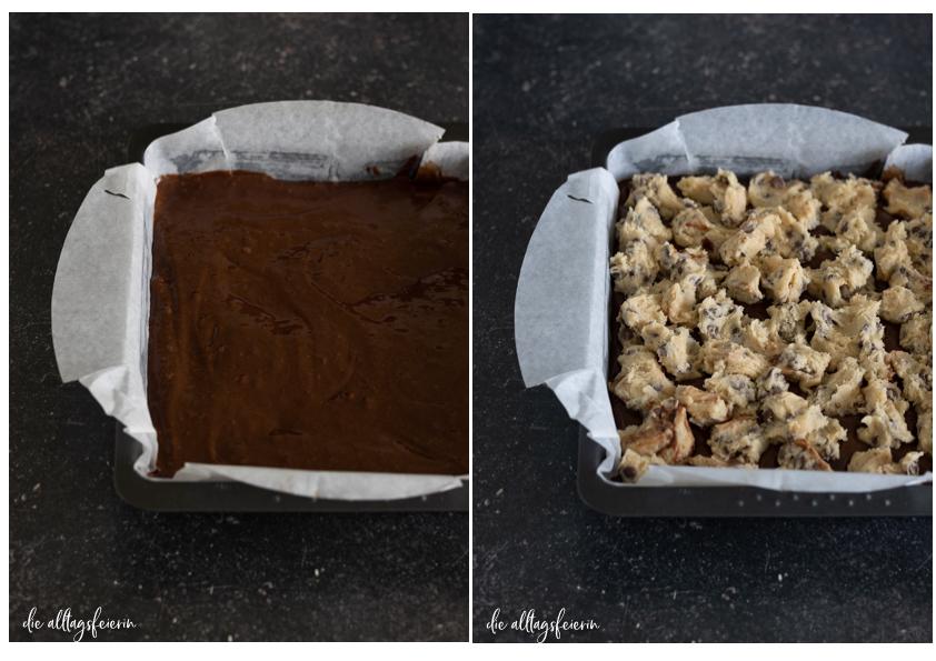 Brookies-Rezept Brownies meet Cookies