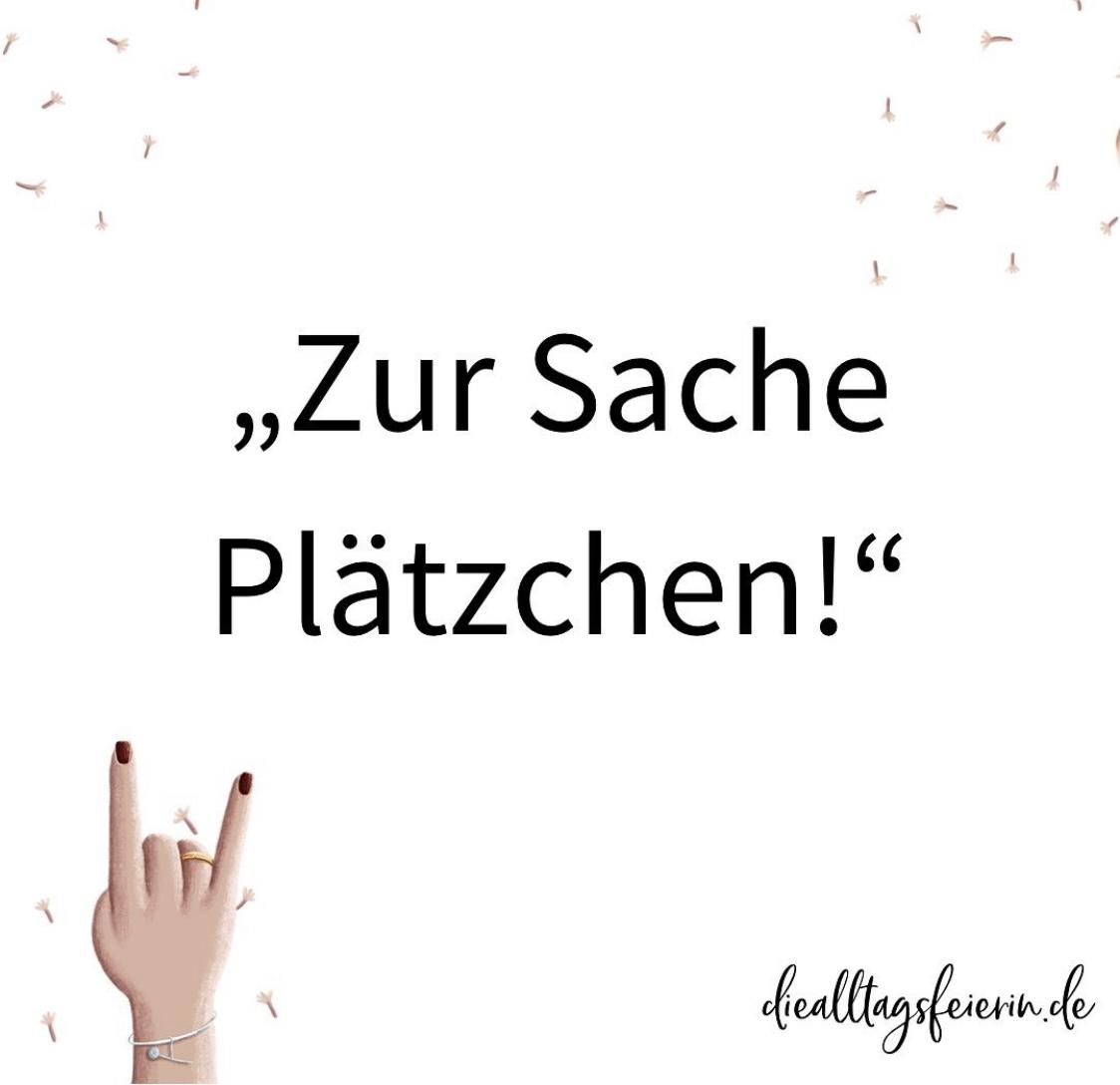Zur Sache Plätzchen, Wochenrückblick No 40-2021 auf diealltagsfeierin.de